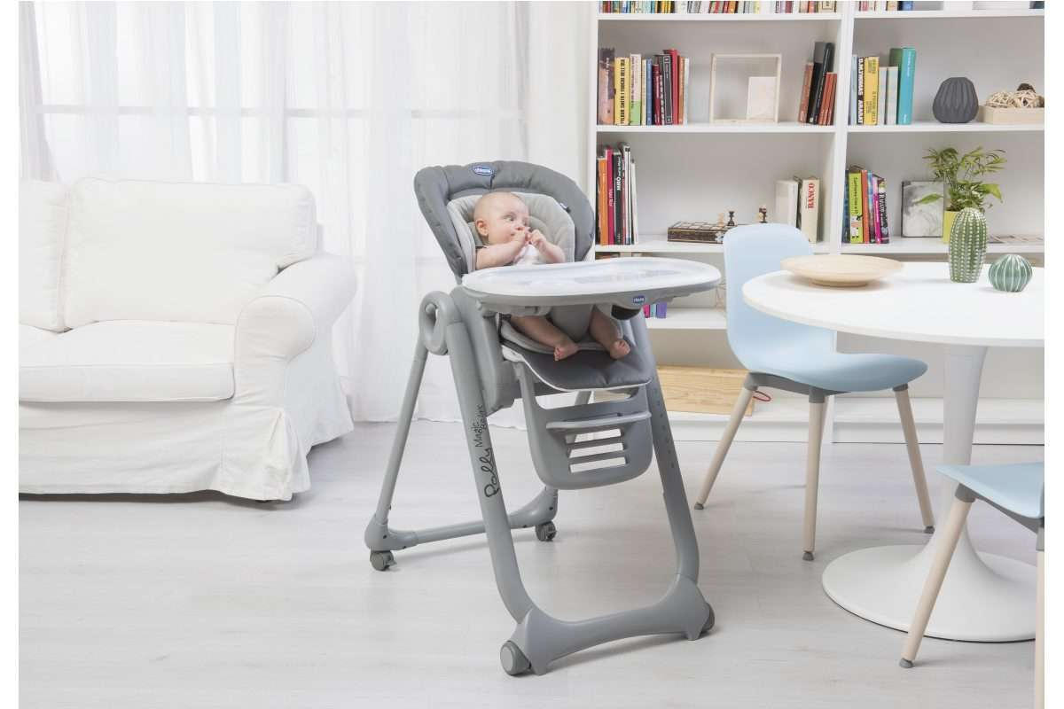 Chaise haute Polly Magic Relax  Repas  Chicco.ch