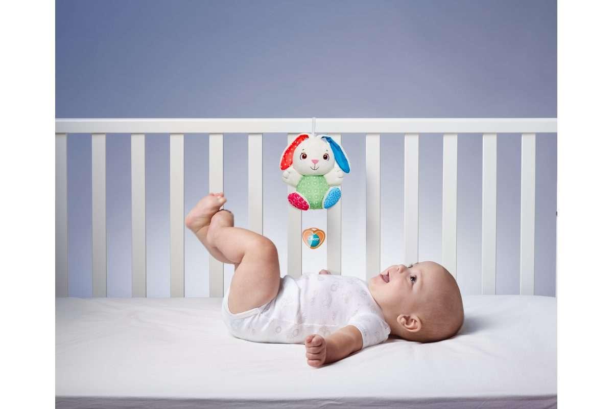 Fluffy carillon coniglietto giocattoli chicco.ch